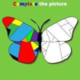 Avsluta leken för bildutbildningslogik för förskole- ungar också vektor för coreldrawillustration royaltyfri fotografi