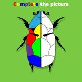 Avsluta leken för bildutbildningslogik för förskole- ungar också vektor för coreldrawillustration arkivbild