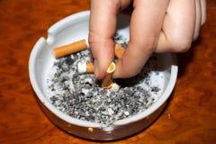avslutad rökning Royaltyfria Foton