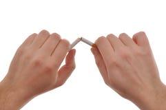 avslutad rökning Royaltyfria Bilder