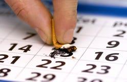 avslutad rökning Royaltyfri Foto