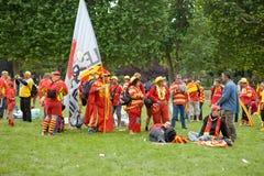 avslutande france juni paris rugbyöverkant för 6 14 Royaltyfria Bilder