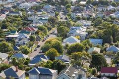 Avsnitt av en liten stad, Devonport Royaltyfri Bild