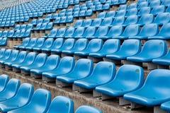 Avsnitt av en stadion Royaltyfri Foto