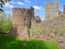 Avsnitt av slotten arkivfoto