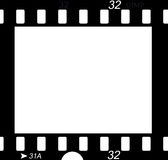 avsnitt för filmnegative vektor illustrationer
