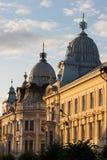 avspeglade byggnader Arkivbilder