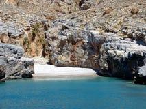 avstängd strand royaltyfri foto