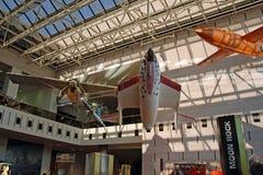 avstånd för luftmuseumnational Arkivbild