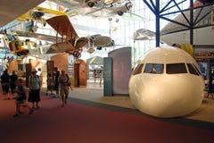 avstånd för luftmuseumnational Arkivfoton
