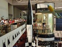 avstånd för luftmuseumnational Royaltyfria Foton
