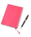 avstånd för penna för kopia för adressbok Royaltyfri Bild