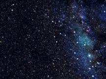avståndsstjärnauniversum Arkivfoton