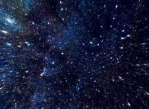 avståndsstjärnor Arkivbild
