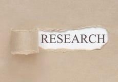 Avtäckning av forskning Arkivfoton
