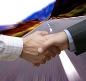 avtalet fast Arkivfoton