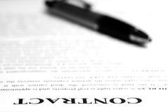 avtalsskrivbord Arkivfoto