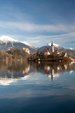 avtappad lake Royaltyfri Bild