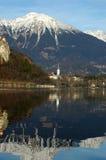 avtappad lake Fotografering för Bildbyråer