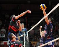 avtappad modig kaposvar volleyboll Royaltyfri Foto