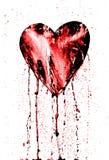 avtappande bruten hjärta royaltyfri illustrationer