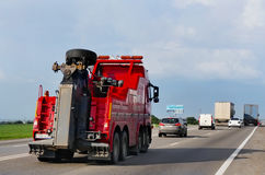 -avtoservis car on the highway Royalty Free Stock Images