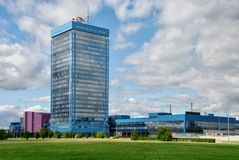 AvtoVAZ-Hauptsitze in Togliatti Lizenzfreie Stockfotografie