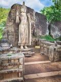 Avukana Buddha Statue Royalty Free Stock Image