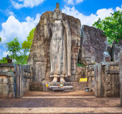 Avukana Buddha Statue Stock Photography