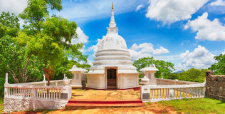 Avukana dagoba. Panorama Stock Photography