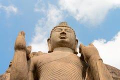 Avukana Standing Buddha Statue, Sri Lanka. Royalty Free Stock Photo