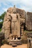 Avukana standing Buddha statue, Sri Lanka. Stock Photography
