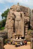 Avukana standing Buddha statue, Sri Lanka. stock image