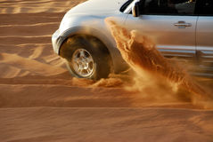 Avventura del deserto Immagine Stock