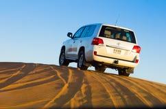 avventura del deserto 4x4, Dubai Fotografia Stock Libera da Diritti