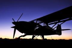 Avventura dell'aereo di Bush Fotografie Stock Libere da Diritti