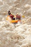 Avventura della barca di rafting del fiume di Whitewater Fotografie Stock