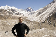 Avventura in Himalaya Immagini Stock