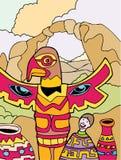 Avventure del bambino: Il New Mexico Fotografie Stock Libere da Diritti