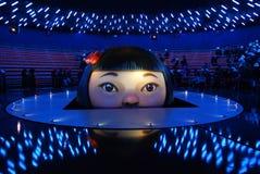 Avverta l'Expo australiana 2010 di esposizione del padiglione Fotografia Stock Libera da Diritti