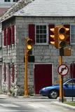 Avvertenza: Nessuna girata di sinistra Fotografia Stock Libera da Diritti