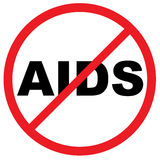 Avvertimento del AIDS Royalty Illustrazione gratis