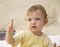Avvertimento del bambino Immagini Stock