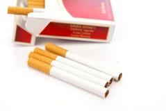 Avvertimento della sigaretta Fotografie Stock