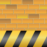 Avvertimento-Rischio Fotografia Stock