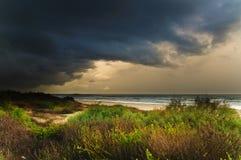 Avvicinamento della tempesta fotografie stock libere da diritti