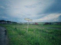 Avvikelse från byn fotografering för bildbyråer
