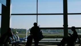Avvikelseområde i flygplatsen arkivfilmer
