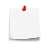 Avviso di carta con il perno royalty illustrazione gratis