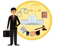 Avvocato Immagini Stock Libere da Diritti